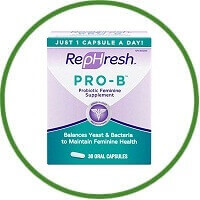 Pro-B Probiotic Feminine Supplement by RepHresh